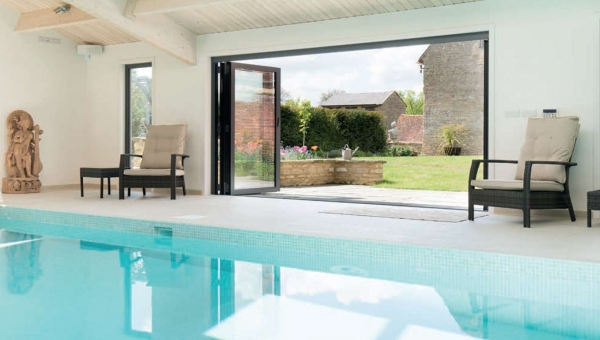 A Swimming Pool Fit For A Historical Home
